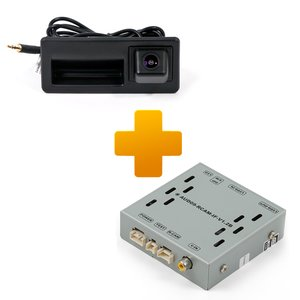 Rear View Camera Connection Kit for Audi MMI 3G