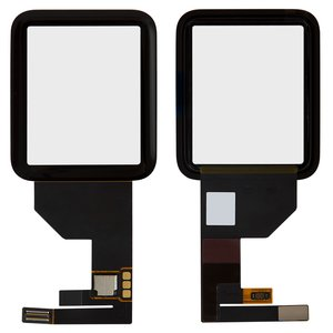 Touchscreen for Apple Watch 42mm Smart Watch, (black)