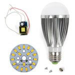 LED Light Bulb DIY Kit SQ-Q03 9 W (warm white, E27), Dimmable
