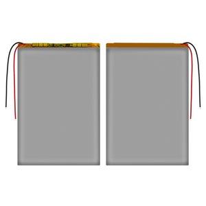 Battery, (118 mm, 70 mm, 3.0 mm, Li-ion, 3.7 V, 2700 mAh)