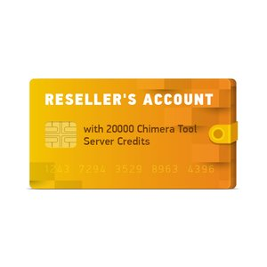 Reseller's Account with 20000 ChimeraTool Server Credits