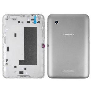 Tapa trasera para tablet PC Samsung P3110 Galaxy Tab2 , gris, (versión Wi-Fi)