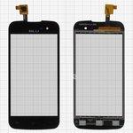 Cristal táctil puede usarse con BLU S330I Neo 4.5; Gigabyte GSmart Rey R3, negro