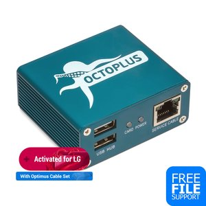 Octoplus Box LG с набором кабелей Optimus (19 шт.)