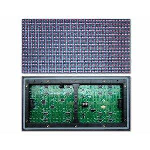 LED-модуль для рекламы P10-Yellow (320 × 160 мм, 32 × 16 точек, IP65, 2000 нт)