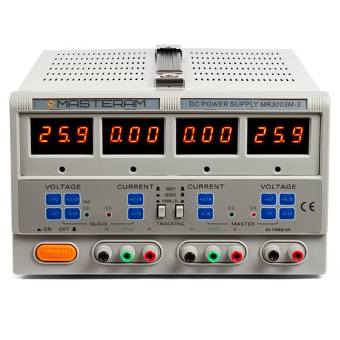 Регульований блок живлення Masteram MR3003M 3
