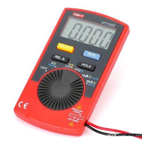 Цифровий мультиметр UNI T UTM 1120C UT120C