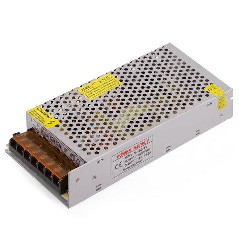 Блок живлення для світлодіодних стрічок 12 В, 16 А 200 Вт , 110 220 В
