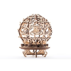 Механічний 3D-пазл UGEARS Квітка-скринька